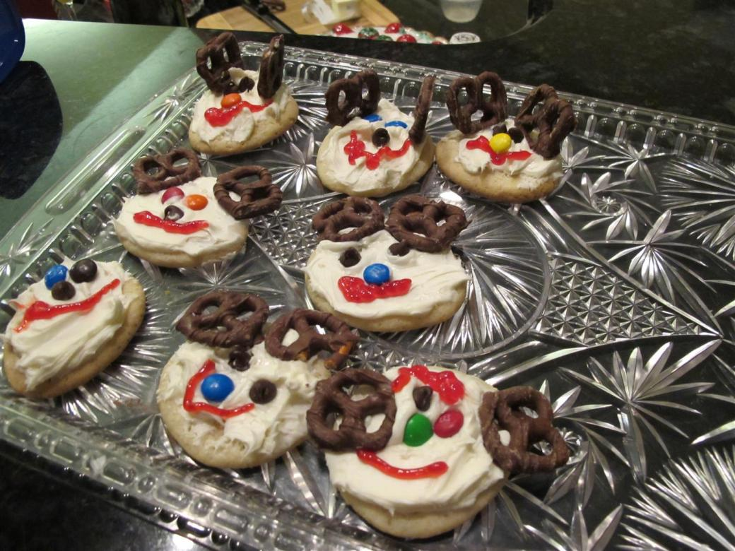 15 Reindeer Cookies (Large)