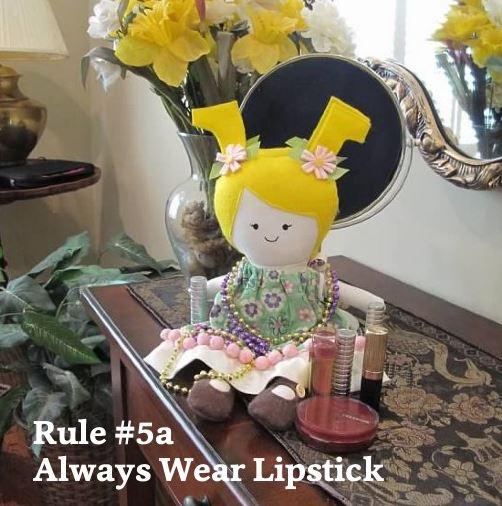 05a Always wear lipstick