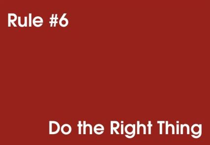 06 Do the Right Thing