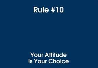 10 Your Attitude Your Choice
