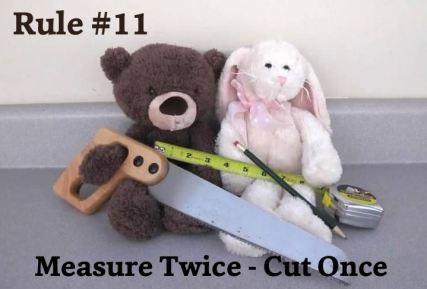 11 Measure Twice
